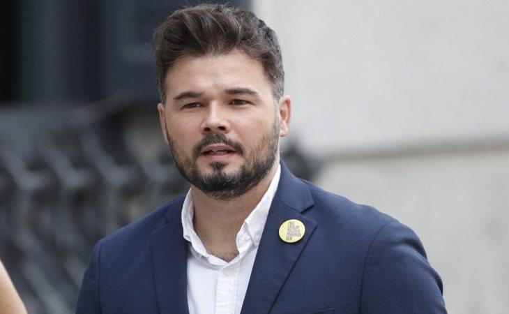 Gabriel Rufián (ERC) lamenta la pérdida de tiempo de la moción de censura: 'Con la que esta cayendo aquí los hijos de Trump y Blas Piñar ...