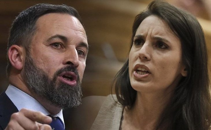 Santiago Abascal ataca al Ministerio de Igualdad y a Irene Montero: 'Estamos ante la portada de Vanity Fair más cara de la historia'
