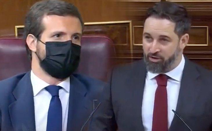 Santiago Abascal pide al PP que apoye la moción de censura y le recuerda a Pablo Casado que gracias a VOX gobiernan en tres autonomías 'para evitar ...