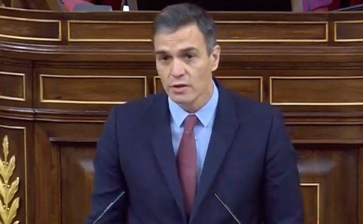 Pedro Sánchez, a Abascal: 'No acude con el propósito fe obtener la confianza de la Cámara. Esta moción de censura es todo menos constructiva. No ...