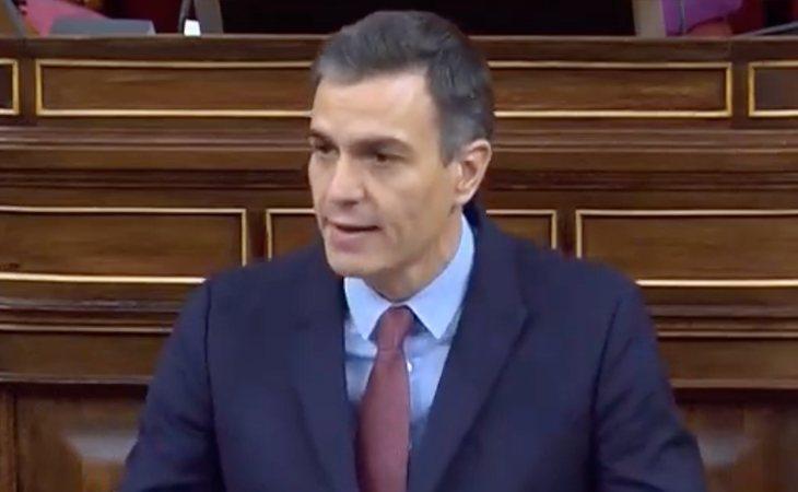 Pedro Sánchez critica los ataques de VOX al IMV al que llamaron 'paguita': A Abascal: 'Entiendo que esto le parezca poco en comparación con los ...
