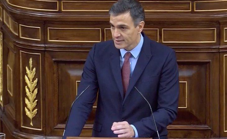 Sánchez rebate a Abascal: 'Además de padecer, sufrir y soportar el terrorismo, el PSOE hizo algo más. Fue un Gobierno socialista quien derrotó ...