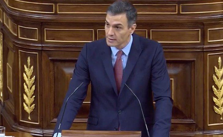 Pedro Sánchez hace un llamamiento a la Cámara: 'Puede ser una moción de censura sumamente constructiva si cerramos el paso a su proyecto de odio y ...