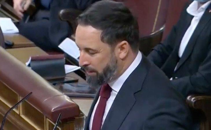 Santiago Abascal está dolido: 'Dice que aborrecemos España. ¿Pero ha visto a quiénes tiene al lado?'. El líder de VOX se enfada porque, según ...