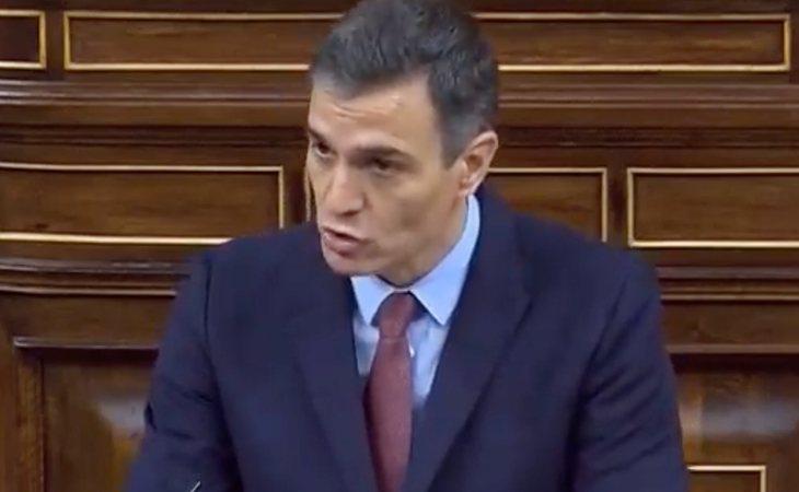 Pedro Sánchez recuerda que el PSOE ganó las últimas dos elecciones y que José María Aznar (PP) gobernó con los apoyos de los nacionalismos de ...