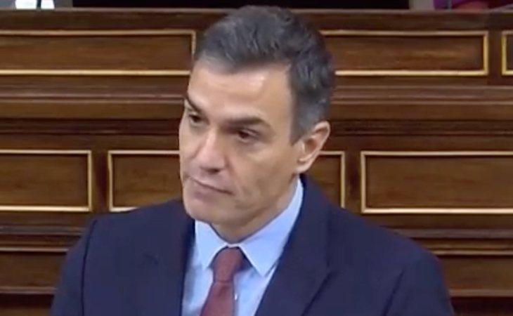 Sánchez recuerda que el Gobierno de Aznar reagrupó a '200 presos vascos'.  Y se dirige a Abascal: 'Usted, que era del PP vasco no dijo nada'. ...