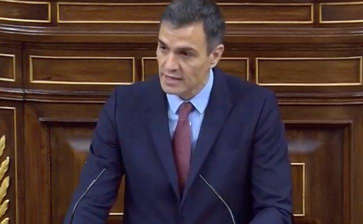 Pedro Sánchez, a Santiago Abascal: 'Usted exhibe muy poco pudor por los fallecidos por la pandemia. VOX no estuvo presente cuando rendimos homenaje ...