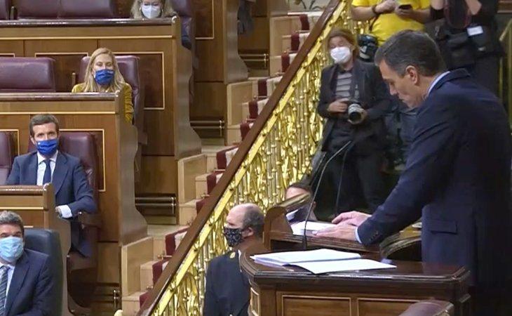 Pedro Sánchez vuelve a dirigirse a Pablo Casado: 'Tenemos diferencias, pero la clave está en el respeto y el reconocimiento al adversario. Si así ...