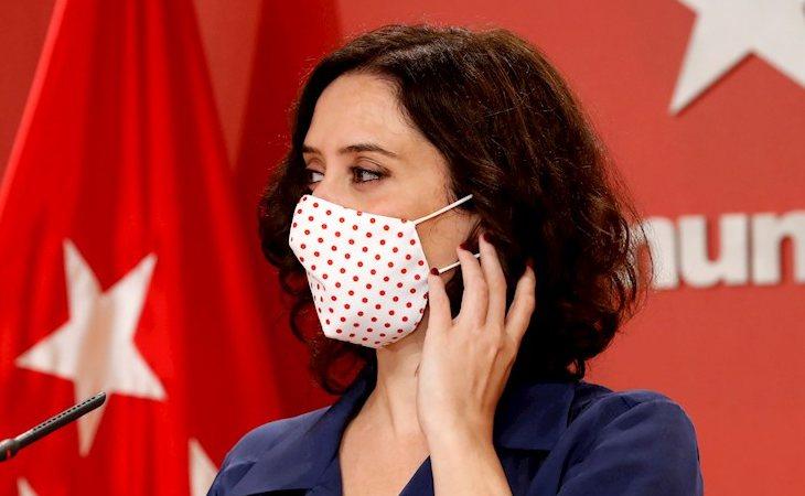 Isabel Díaz Ayuso, sobre la moción de censura de VOX contra Pedro Sánchez: 'La división del centro derecha es una catástrofe para España'