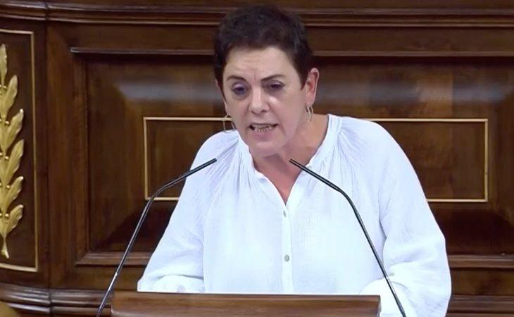 Mertxe Aizpurua (EH Bildu): 'Los independentistas vascos queremos una ruptura democrática y una república propia. Pero también, señorías de UP y ...