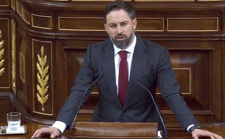 Santiago Abascal, tras leer los nombres de las víctimas de ETA: 'Aquí nos vienen a hablar de la Memoria Histórica de hace un siglo pero no quieren ...