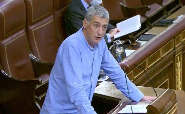 Oskar Matute reitera el rechazo de EH Bildu a la moción de censura de VOX pero pide a las derechas que la apoyen. 'Las derechas son las fuerzas de ...