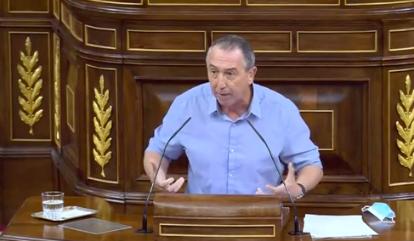 Joan Baldoví (Compromís) confirma su voto en contra y y se mofa de Abascal: ¿Usted votaría presidente a un señor que no ha trabajado en su vida, ...