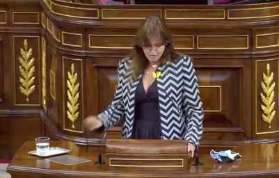 Laura Borràs (JuntsXCAT) confirma su voto en contra: 'Vaya patriotismo convocar una moción ahora, con esta situación'. Se mofa del 'virus chino': ...