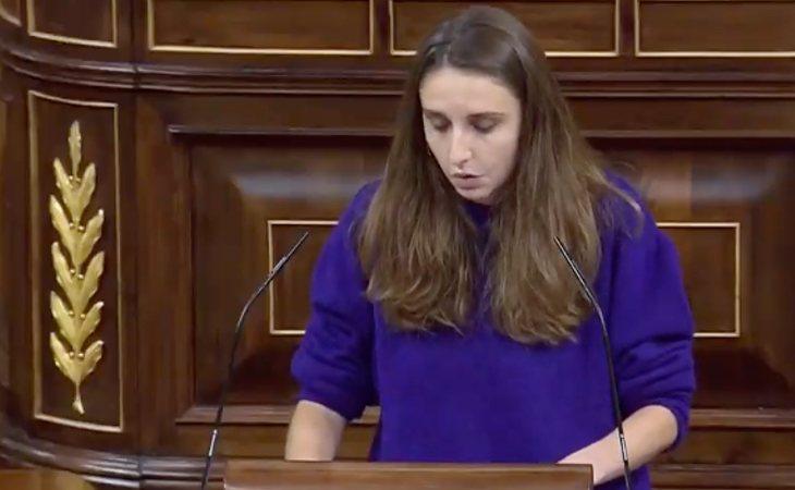 Lucía Muñoz deja claro que Unidas Podemos votará en contra de la moción de censura: 'Ustedes dan miedo porque reivindican el odio y la violencia ...