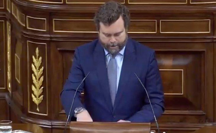 Iván Espinosa de los Monteros (VOX): 'España está en peligro'. Y apunta: 'Ni el socialismo, ni el comunismo pueden ofrecer solución alguna'