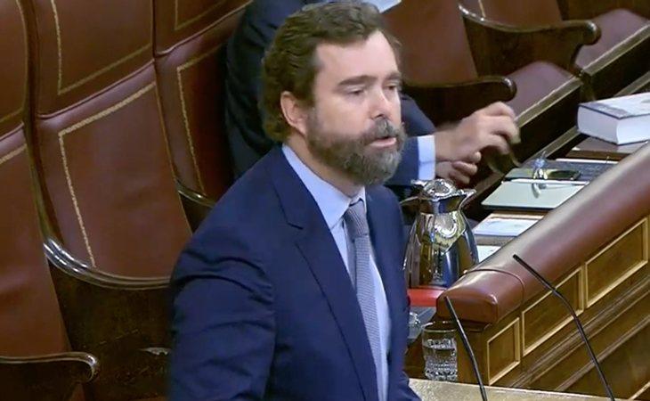 Iván Espinosa de los Monteros (VOX): 'La llegada de los extremismos a la política no ha traído nada bueno' ¿Se refería a su partido? No, a ...
