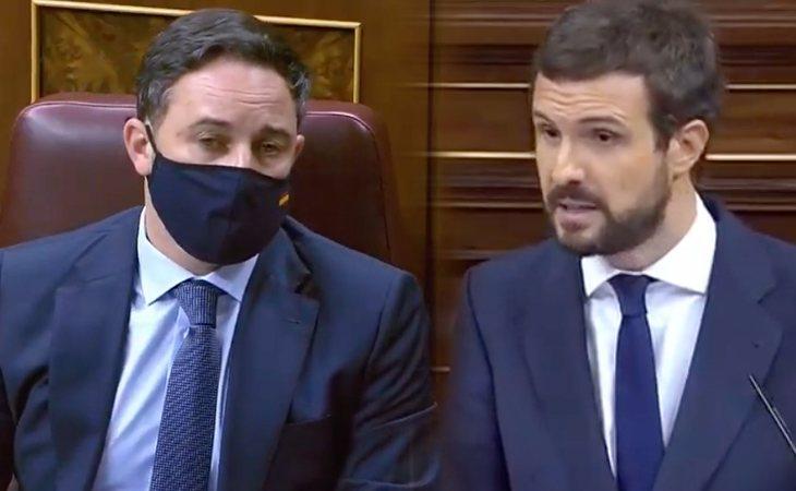 Pablo Casado anuncia que el PP votará 'NO' a la moción de censura de VOX
