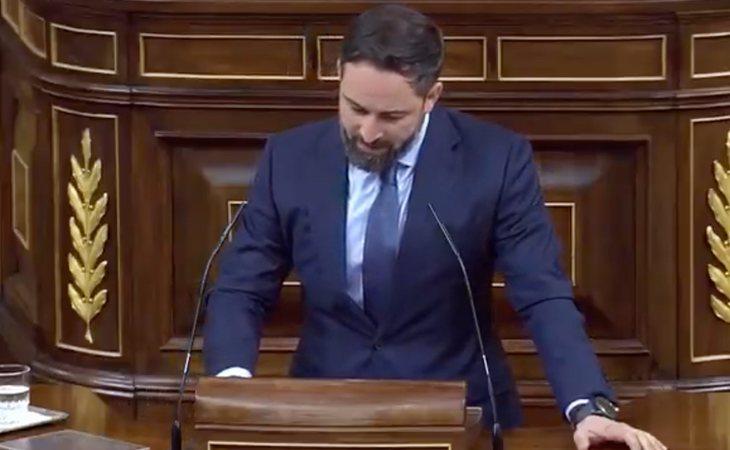Santiago Abascal se victimiza ante Pablo Casado: 'Lamento profundamente el ataque personal que usted ha desplegado hoy contra mí'