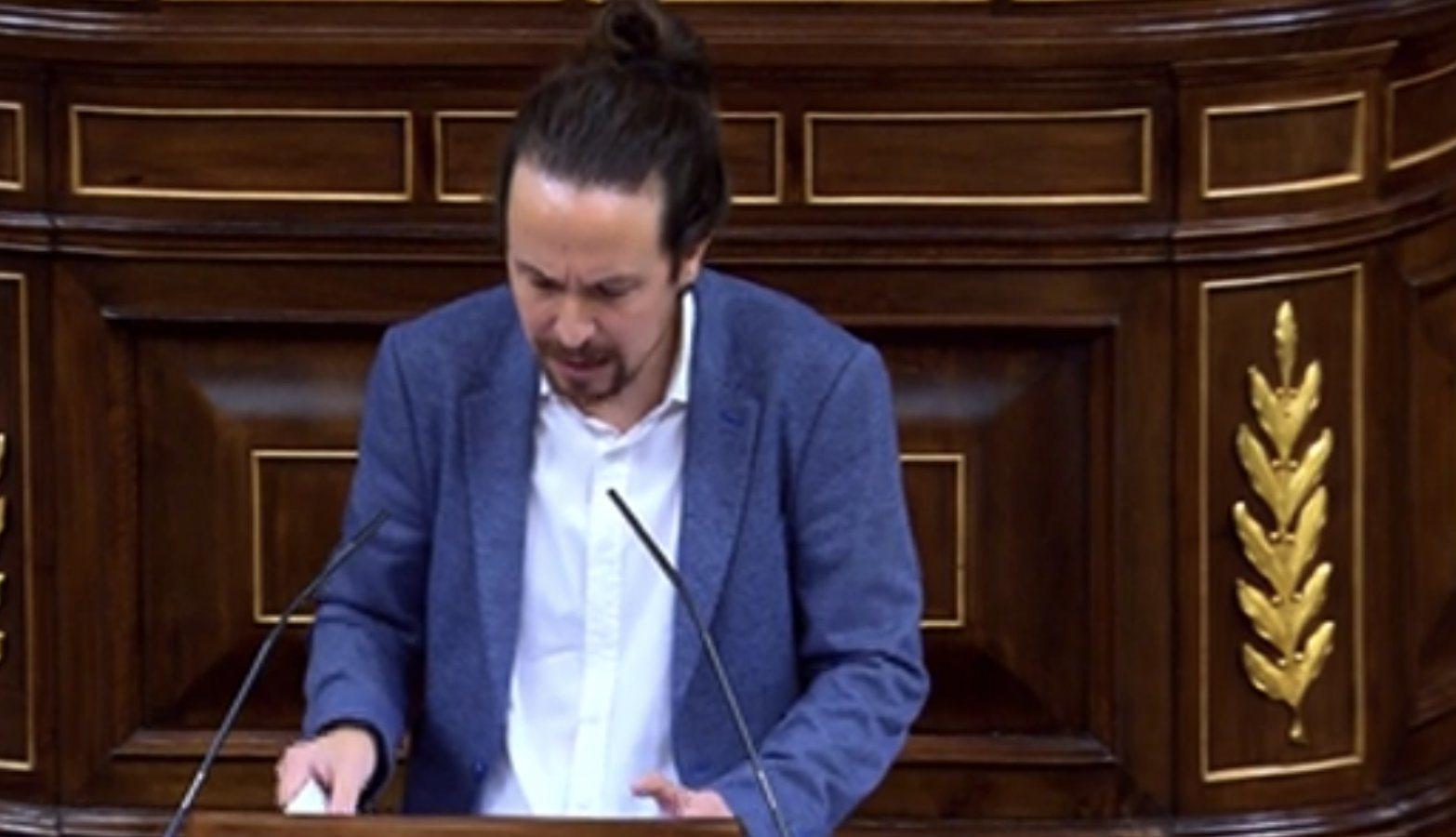 Iglesias, a Casado: 'Ustedes no son la derechita cobarde: llevaron el matrimonio igualitario o el Estatut al Constitucional. Se han quedado incluso ...