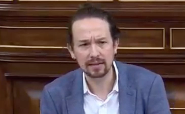 Pablo Iglesias: 'Lo que nos une a todos los ciudadanos son los servicios públicos. No vamos a permitir que nadie traiga a la patria una dictadura'