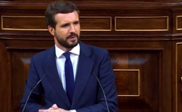 Casado, a Iglesias: 'Usted se parece mucho más a Abascal de lo que piensa'. Sobre el 15-M: 'Hay mucha gente que se unió a la manifestación en su ...