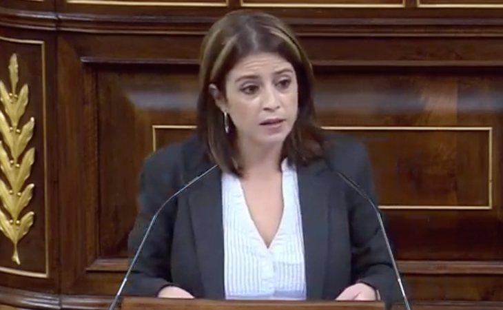 Adriana Lastra (PSOE) responde contundente a VOX: 'Han atacado a diputados de esta Cámara. Han dedicado más de tres horas a exaltar la dictadura ...
