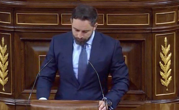 antiago Abascal (VOX) se dirige a Pablo Casado (PP): 'Han decidido la continuidad del Gobierno de la ruina y de la muerte de muchos españoles'. 'Es ...