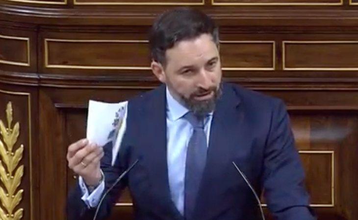 Santiago Abascal sugiere amaño electora: 'VOX seguirá exigiendo en la calle unas elecciones libres que cada vez serán más difíciles de alcanzar'