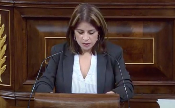 driana Lastra (PSOE), a VOX: 'Sus palabras, señor Abascal, generan odio. Pero con cada insulto, nuestra unión crece'. 'El tirano no consiguió ...