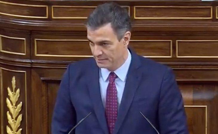 Pedro Sánchez, a Abascal: 'Usted va a ser derrotado dentro de unos minutos y esto va a ser un alivio para todos nosotros'