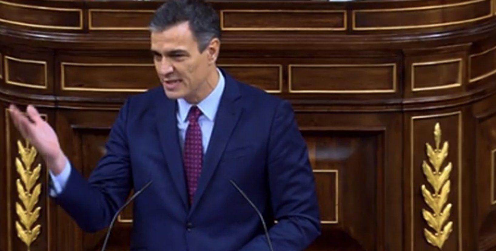 Sánchez: 'Señor Abascal, asuma la realidad, usted no es Blas de Lezo ni Hernán Cortés. Lo lamento, no es el salvador de España'. 'Lo único que ...