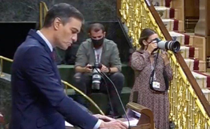 Pedro Sánchez, contundente con Santiago Abascal: 'Usted está solo. Orgullo es lo que le sobra y modestia es lo que le falta'
