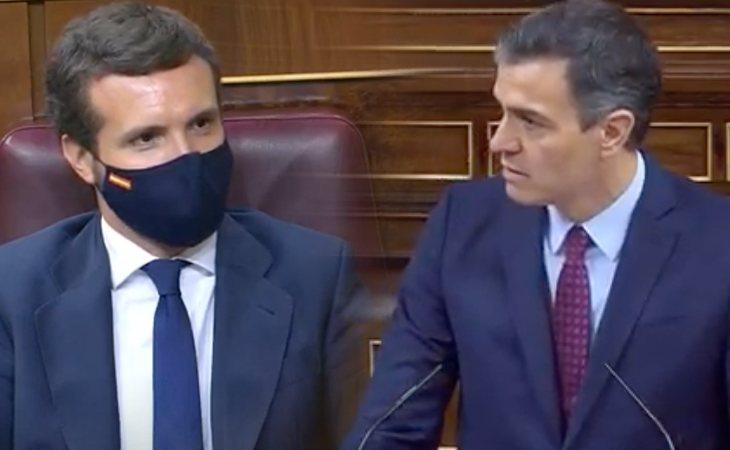 Pedro Sánchez tiende la mano a Pablo Casado (PP) para renovar CGPJ, el Tribunal Constitucional y el Defensor del Pueblo: 'Señor Casado, necesitamos ...