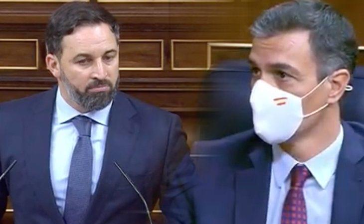 Santiago Abascal, a Pedro Sánchez: 'Ha pasado de profanador a necrófilo. Ustedes sin Franco no son nada'