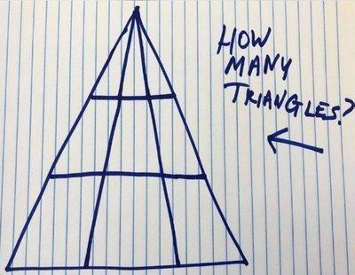¿Cuántos triángulos ves en la imagen? El reto que sacude las redes (no es tan fácil como parece)