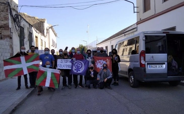 El chivato que propició el asesinato de Miguel Ángel Blanco, Ibon Muñoa, recibido con honores | Exterat