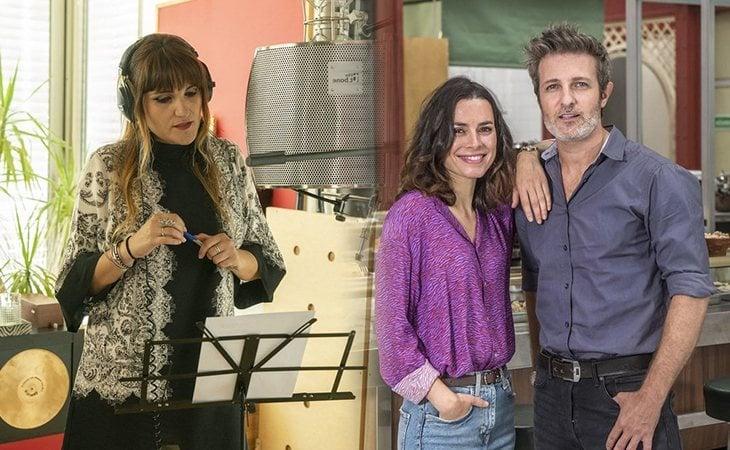 Rozalén y Carlos Sadness interpretan la canción de 'Mercado central'
