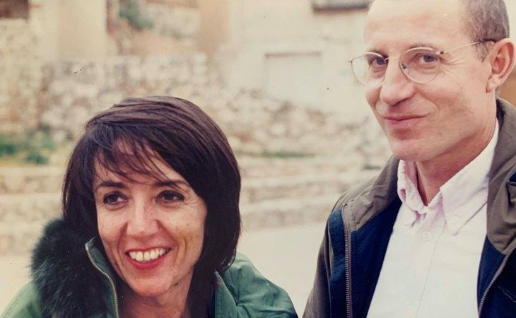 María José Carrasco y Ángel Hernández en su juventud