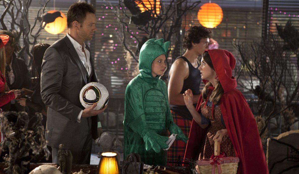 Los protagonistas de 'Community' en una fiesta de Halloween