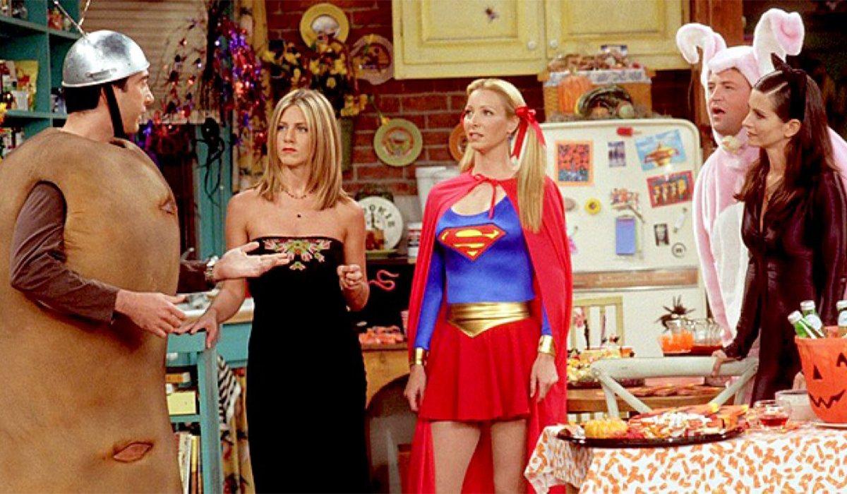 Los protagonistas de 'Friends' disfrazados para Halloween