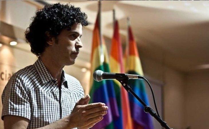 Pedro Zerolo es uno de los mayores iconos recientes para el colectivo