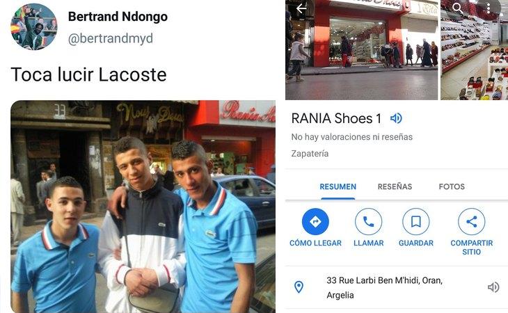 Bulo racista de Bertrans Ndongo (VOX) y la situación real de la imagen, en Argelia