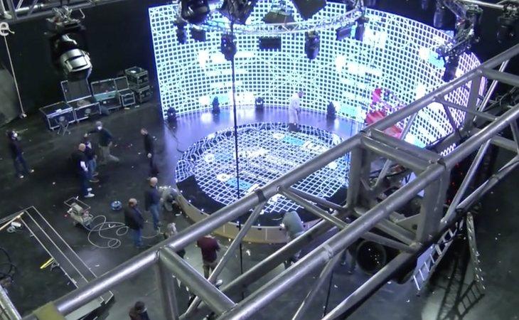 El escenario de TVE para Eurovisión Junior 2020