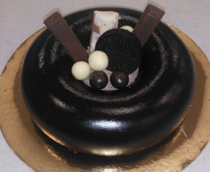 La tarta retirada por Sanidad