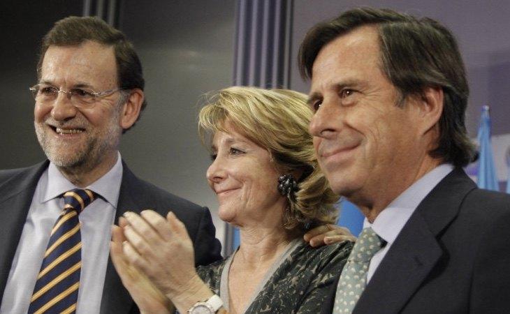 García Vinuesa (dcha) ha sido imputado y continua como dirigente en la Comunidad de Madrid de Ayuso