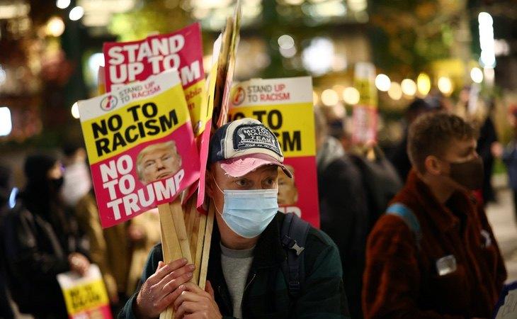 El Gobierno de Trump ha polarizado fuertemente la sociedad estadounidense