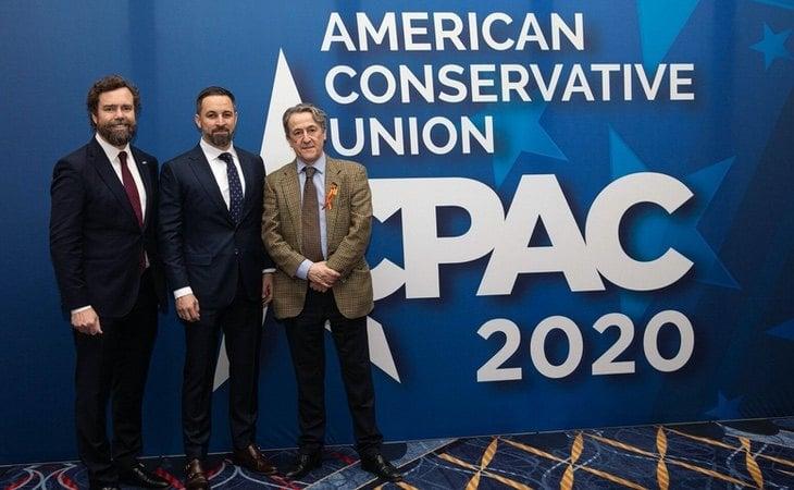 Abascal, en su última visita a una cumbre de los conservadores americanos