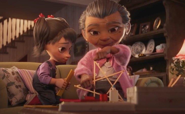 Fotograma de la producción realizada por Disney en colaboración con El Corte Inglés