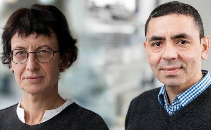Ugur Sahim y Özlem Türeci son el matrimonio turco al frente de la empresa BioNtech